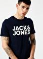 Jack & Jones Jack & Jones 12151955 Lacivert T-Shirt Lacivert